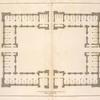Plan of stables.
