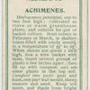 Achimenes.