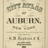 City Atlas of Auburn, NY [Title page]""