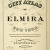 City Atlas of Elmira New York. [Title Page]