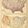 Climatological Map of the United States; Geological Map of the United States