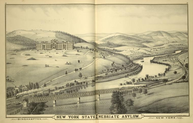 Binghampton, New York State Inebriate Asylum, New York