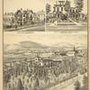 Residence of G.C. Nichols, Stuyvesant St., Binghamton, N.Y. ; Residence of Jeremiah Bean, 26 Main St., Binghamton, N.Y. ; Residence and Farm of Abel Bennett, Binghamton, N.Y.