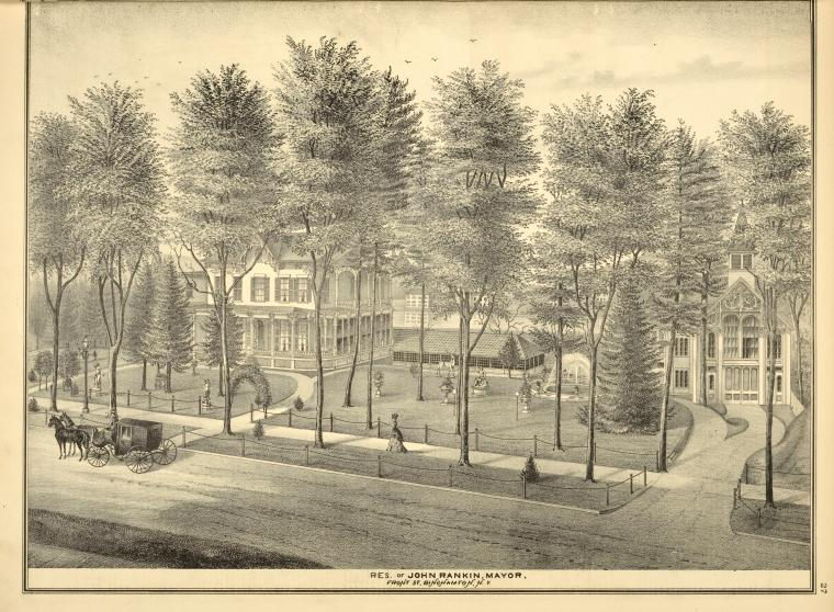 Residence of John Ramkin, Mayor, Binghamton, N.Y.