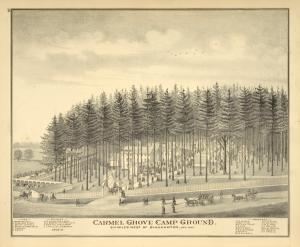 Carmel Grove Camp Ground. Six miles west of Binghamton, New York.
