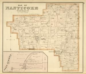 Map of Nanticoke Township; Glen Aubrey[Village]