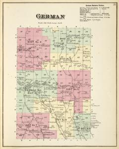 German [Township]; German Business Notices.