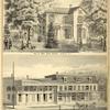 Res. of Mrs. Jane Grant, Greene N.Y.; The Juliano Bank. Russell & Juliano, Bankers, Greene, N.Y.; Residence & Store of C.F.G. Cunningham, Greene, N.Y.