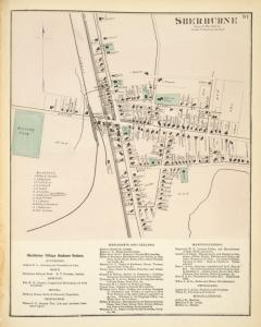 Sherburne [Village]; Sherburne Village Business Notices.