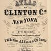 """Atlas of Clinton Co., New York [Title page]"""