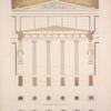 Grundriss des caryatiden Portikus.
