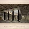 Das grosse Atrium des Schlosses Orianda.