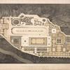 Grundriss des königl: Palastes auf der Akropolis von Athen.