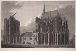 Виды, планы, разрезы и детали Кельнского кафедрального собора
