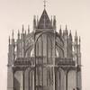 [Elevation of the cathedral, north end.]