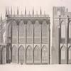 Elevation of the cathedral, west side.]