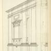 Elevation of the Ionick [sic] design in perspective.