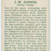 J. W. Barker (Derby county).