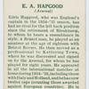 E. A. Hapgood (Arsenal).