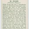 W. Evans (Tottenham Hotspur).