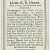 Lieut. K. E. Hegan (The Army, Corinthians and England).