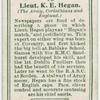 Lieut. K. E. Hegan (The Army, Corinthians and England).