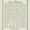 Alex Jackson (Huddersfield and Scotland).
