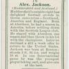 Alex Jackson (Huddersfield and Scotland).