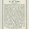 C. W. Carr (Barrow).