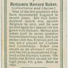 Benjamin Howard Baker (Corinthians and Chelsea).