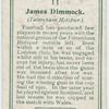 James Dimmock (Tottenham Hotspur).