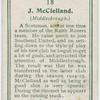 J. McClelland (Middlesbrough).