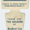 These are the colours of Bradford City A. F. C.