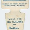 These are the colours of Blackburn Rovers A. F. C.