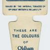 These are the colours of Oldham R. F. C.