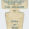 These are the colours of Halifax and Bristol R. F. C.