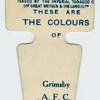 These are the colours of Grimsby A. F. C.