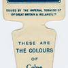 These are the colours of Colne A. F. C.