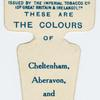 These are the colours of Cheltenham, Aberavon, and Barrow R. F. C.