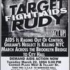 Target Rudy. Fight AIDS.