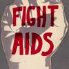 Fight AIDS.  Verso: ACT UP.