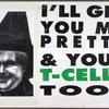 I'll get you my little pretty & your T-cells too! verso: fight back. Fight AIDS. Fight Newt.
