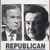 Bush = Death. Elect to live. Verso: Fight Republican bigotry. [Bush and Buchanan]
