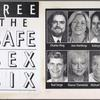 Free the safe sex six.  Verso: Free the safe sex six. [Images of six people].