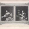 [After two works by Mieris; woman playing a lute; woman feeding a parrot.]