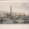Die Piazzetta zu Venedig.