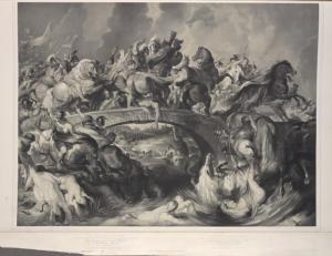 Die Amazonen-Schlacht.