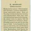 E. Barkas (Birmingham).
