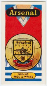 Arsenal (Colours red & white).