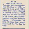 Newcastle United (Colours black & white).